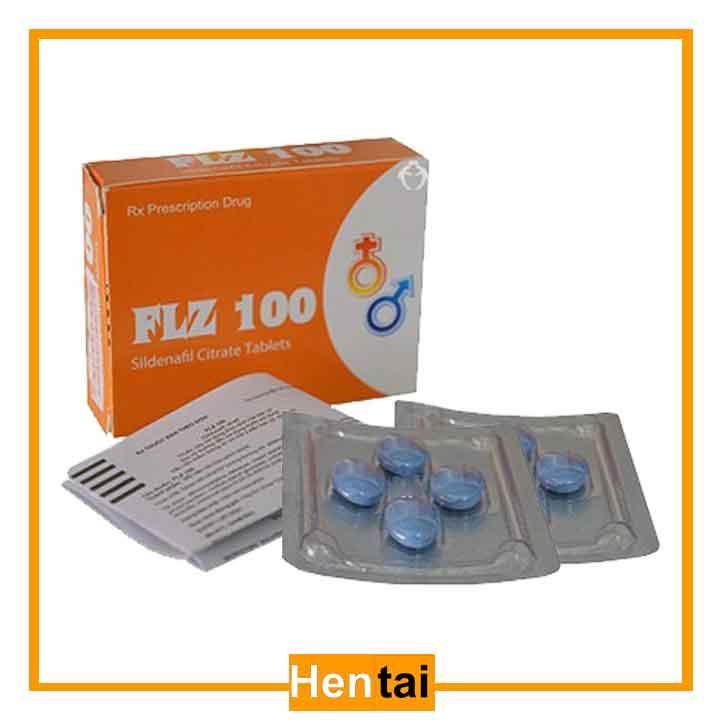 thuốc cường dương ấn độ FLZ 100mg