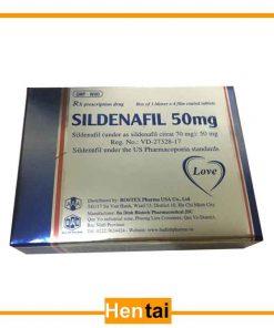 Sildenafil tiêu chuẩn mỹ- Chữa rối loạn cương dương
