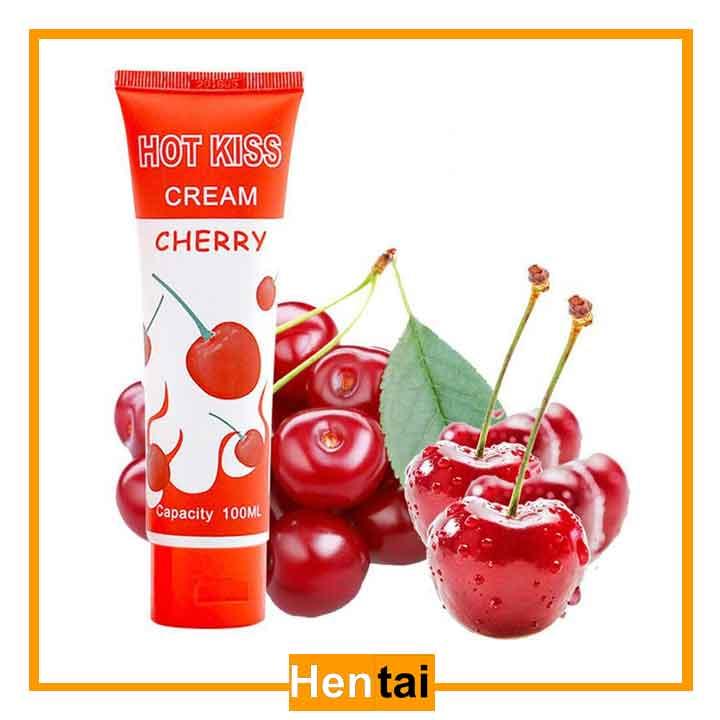 Gel bôi trơn hương trái cây Cherry Hot Kiss 100ml