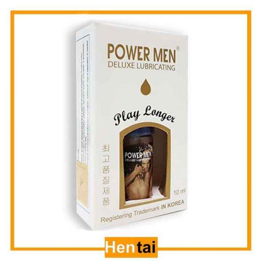 Gel bôi trơn chống xuất sớm Power Men Play Longer