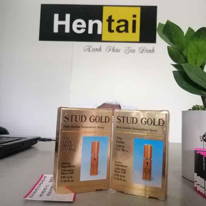 Stud Gold Chai xịt kéo dài thời gian quan hệ chính hãng