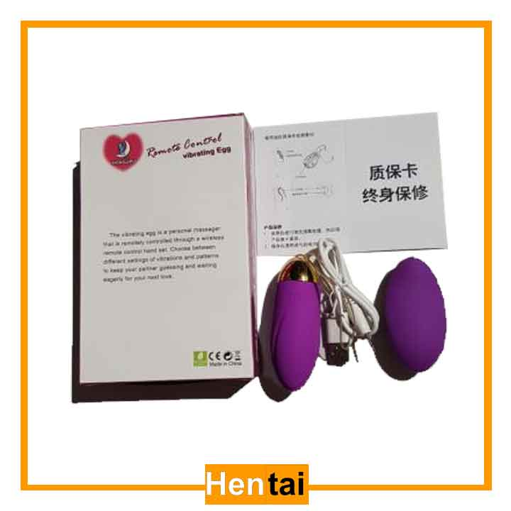 Trứng rung tình yêu không dây, có gân 10 chế độ Hongjipu