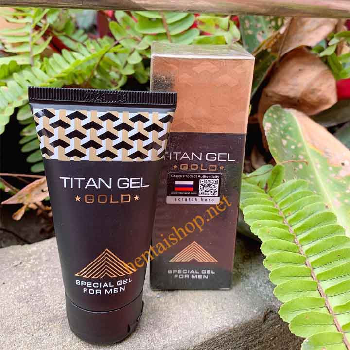 Gel titanl GOLD tăng kích thước dương vật chính hãng của Nga
