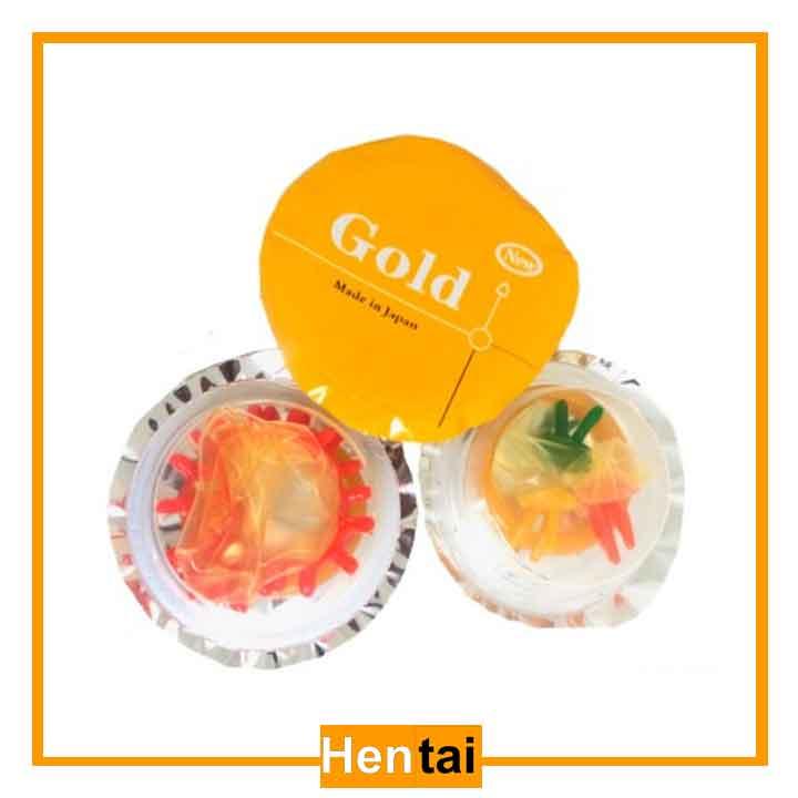 Bao cao su gân gai New Gold 1s- Nhật bản