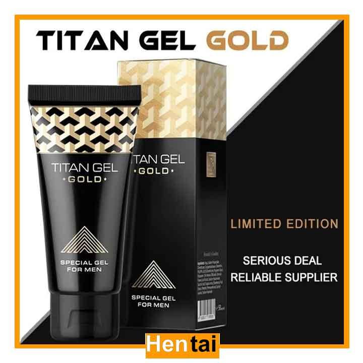 Gel Titan Gold tăng kích thước dương vật tối chính hãng của NGA