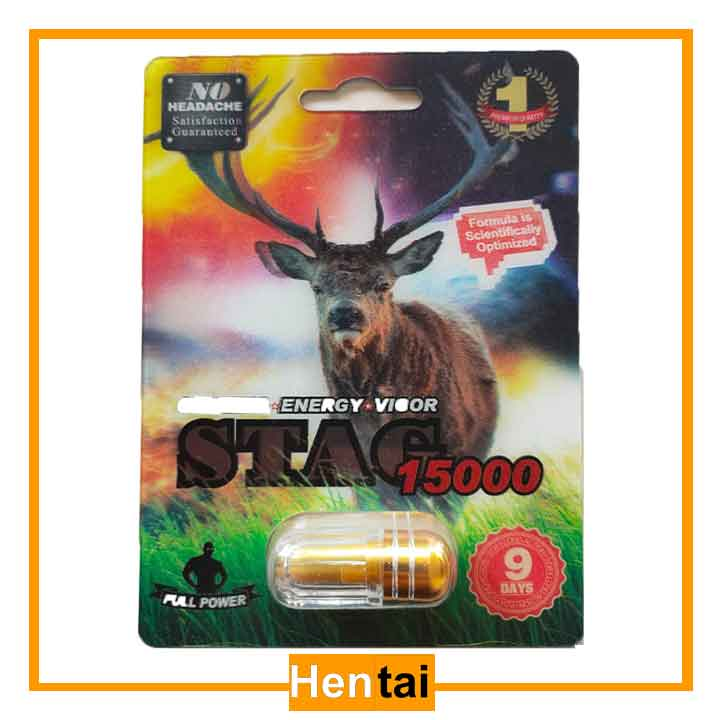Thuốc cường dương của mỹ Stag 15000