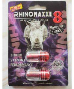 Rhino maxxx 8 thảo dược cương dương của Mỹ