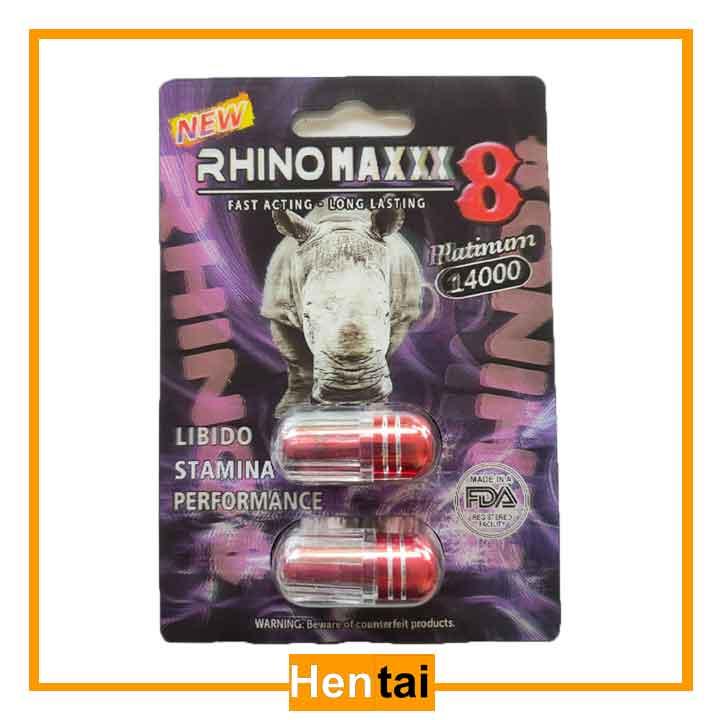 Thuốc mỹ Rhino maxxx 8 xách tay mỹ