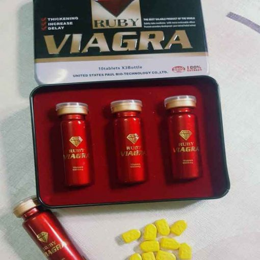 Thuốc cương dương viagra ruby của mỹ